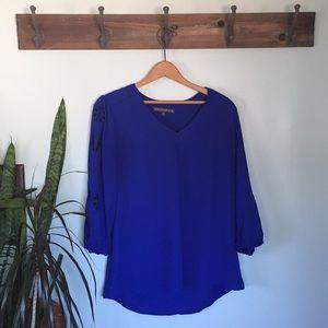 Brixon Ivy Stitch Fix blue blouse